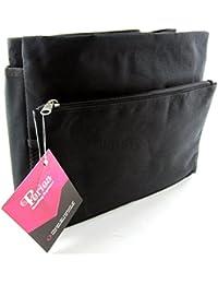 Periea - Organiseur de sac à main, 9 Compartiments - Tera (Noir/Très Grand)