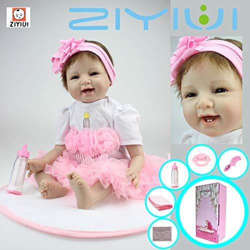 Muñeca real, de vinilo de silicona