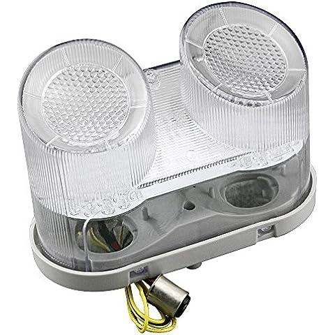 gzyf LED integrado luz trasera señales de vuelta para Yamaha YZF R12000–2001FZ12001–2005