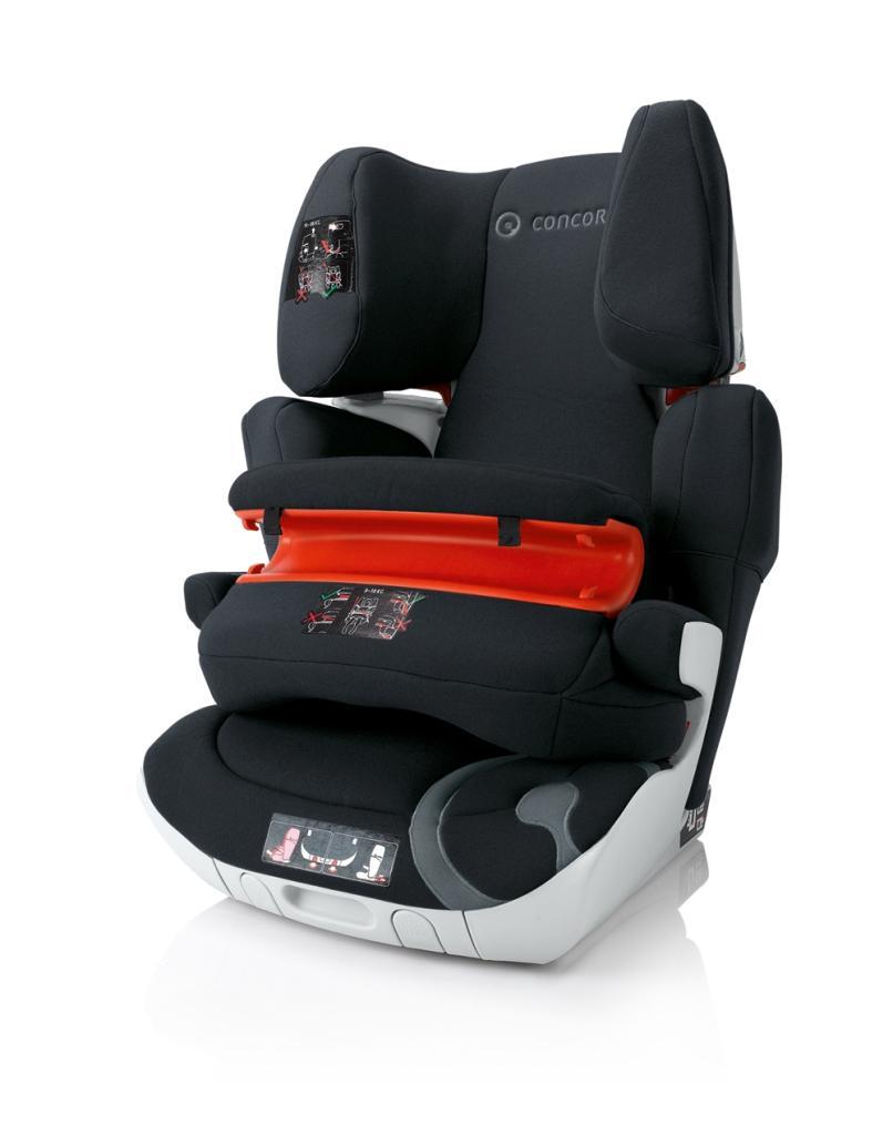 concord transformer xt pro group 1 2 3 car seat phantom black 2014 range baby. Black Bedroom Furniture Sets. Home Design Ideas