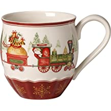 Villeroy & Boch Annual Christmas Edition 2017 Mug Dell' Anno, Porcellana, Bianco