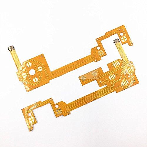 Links Rechts ableitfähige Film Board Button Flachbandkabel für Nintendo WII U Pad Controller (U Wii Link)