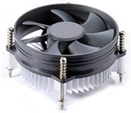 Cables Kart CPU Cooling Fan with Aluminum Heat Sink and 4-pin Cnnector for Core 2 Duo 775 Socket