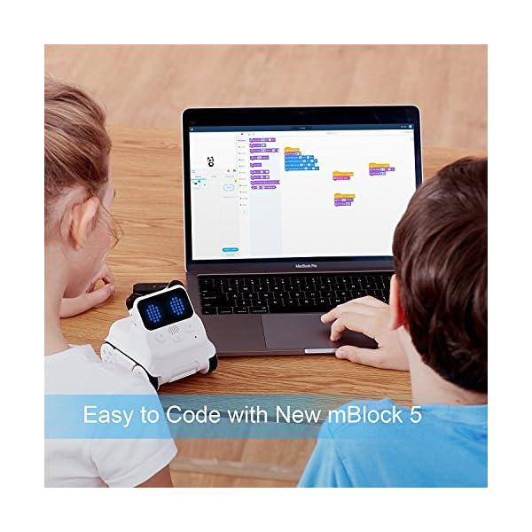 Makeblock Kid's Codey Rocky Smart Robot STEM Educational Entry-level  Programming Toys (White)
