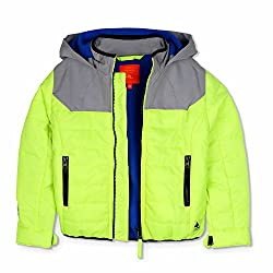 Cherry Crumble Colorblock Tracker Jacket For Boys