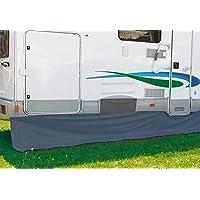 Fiamma 98655090 - Protección a prueba de viento de remolque, color gris