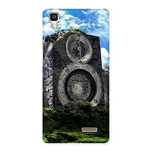 Impressive Speaker Of Rocks Back Case Cover for Oppo R7