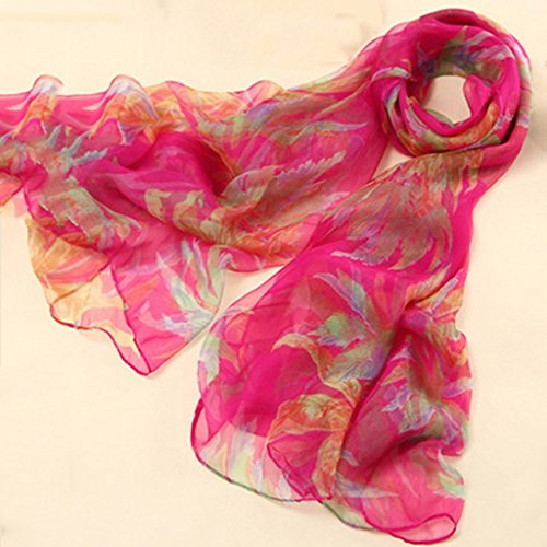 serviette de plage Version coréenne de l'impression en soie Long Scarf Shawl Wild Scarf ( Couleur : #3 ) #8
