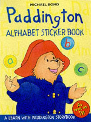 Paddington : alphabet sticker book