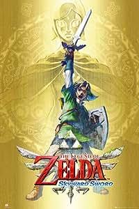 Legend of Zelda Poster Skyward Sword