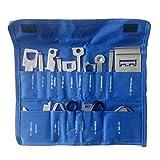 somstyle (TM) Multifunktional 38pcs/Set Auto Fahrzeuge Radio Ausbau-Werkzeug Set mit Tasche für Audi für Ford Universal Praktisches Werkzeug Kits, blau