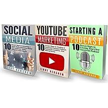 Internet Marketing: 3 Manuscripts: Podcast, Youtube Marketing, Social Media (Startup) (English Edition)