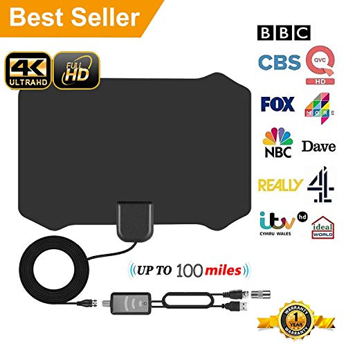 TV Aerial,Freeview Indoor TV Aer...