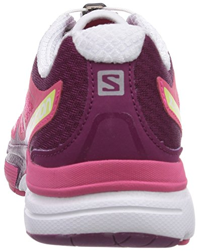 Salomon X-Scream 3d, Chaussures de Running Compétition Femme rose (Hot Pink/Mystic Purple/White)
