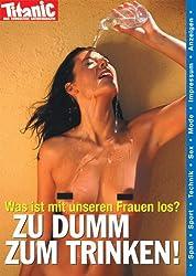 Postkarte A6 +++ TITANIC von modern times +++ ZU DUMM ZUM TRINKEN 200111 +++ ARTCONCEPT TITANIC, Hintner, Foxx