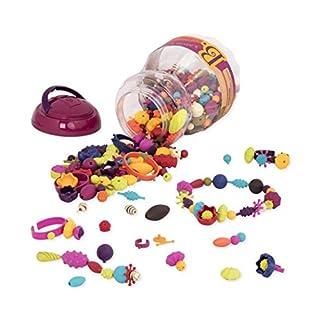 B. toys by Battat - Beauty Pops Pop Arty! 500 pcs - Pop Beads - Jewelry Making Kits - BPA Free (B002YIRKKY) | Amazon price tracker / tracking, Amazon price history charts, Amazon price watches, Amazon price drop alerts