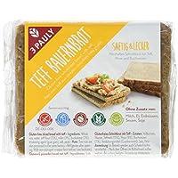 3 PAULY Teff Bauernbrot - glutenfrei, 3er Pack (3 x 500 g)