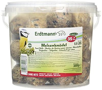 Erdtmanns No-Net Suet Balls in Tub, Pack of 35 by Christoph & Franz Erdtmann OHG