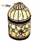 weimay lanterne portacandela metallo lanterna a gabbia di uccelli creative Wedding Home decorazione di tavolo 1pcs 1pc Tipo A