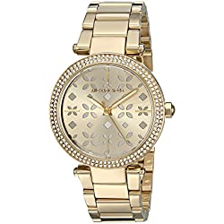 Michael Kors Parker Mini reloj dorado MK6469 de las mujeres 33 mm Oro