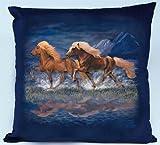 Isländer Kissen - Christina Bötzel – Pony Kissen Reitsport Pferde Pferd Reiten Geschenk Geburtstag T-Shirt