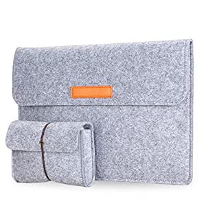 microsoft surface pro 4 housse sacoche pochette en feutre avec petit sac pour microsoft. Black Bedroom Furniture Sets. Home Design Ideas