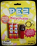 Pez Candy & Gorilla Keychain New On Card