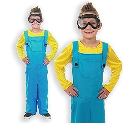Costumes Minion Enfants Halloween - Garçons Despicable Me Minion Livre Day Halloween