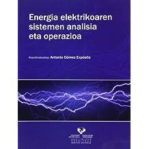 Energia elektrikoaren sistemen analisia eta operazioa (Vicerrectorado de Euskara)