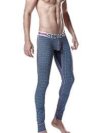 SEOBEAN Homme Long John Sport Sous-Vêtement Pantalon