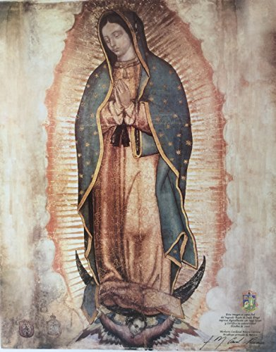 e4f727810ef Colors of Mexico Virgen De Guadalupe .Authorized copy of Our Lady of  Guadalupe Small Print
