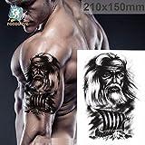 Temporäre Körperkunst Entfernbare Tattoo Aufkleber Mann - LC856 Sticker Tattoo