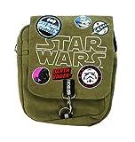 Star Wars Cross Body Bag Münzbörse, 25 cm, Grün (Khaki)