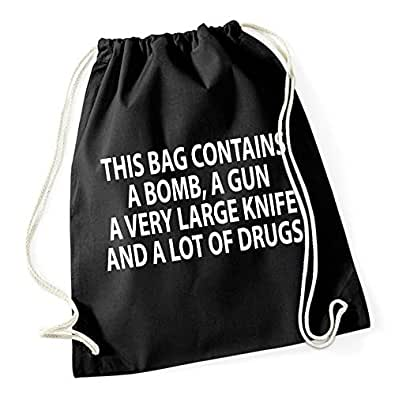 Certified Freak This Bag Contains Gymsack Black