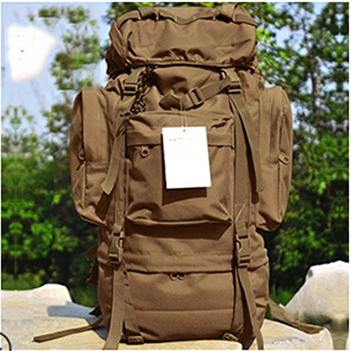 BUSL Outdoor-Klettern Tasche Rucksack 65L große Kapazität Rucksack Tasche Gepäck b