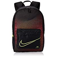 Nike Unisex-Child Backpack, Black/Total Orange - NKBA6152-10