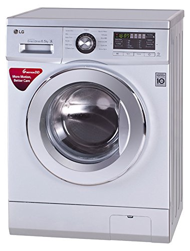 LG 6.5 kg Fully-Automatic Front Loading Washing Machine (FH096WDL24, Luxury Silver)