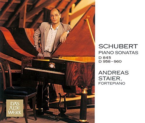 SCHUBERT:SONATA IN A MINOR. OP.42. D.845 / THE LATE PIANO SONATAS D.958-960(3CD)(reissue) by Andreas Staier (2015-03-11) (Schubert Piano Sonata D 845)
