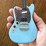 Axe Heaven Fender Mustang Sonic Blue Mini Guitar Replica