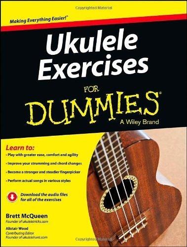 Ukulele Exercises For Dummies by Brett McQueen (2013-04-05)