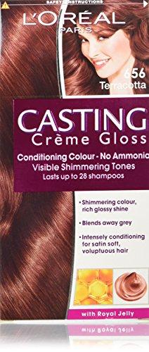 L' Oreal-Casting Creme Lucido colore capelli numero 656, terracotta