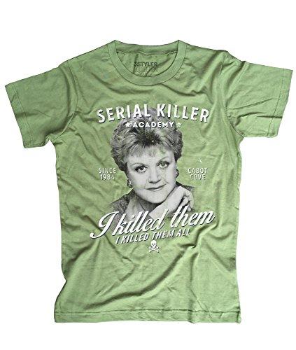 3stylercollection-vintage-jessica-fletcher-t-shirt-uomo-murder-she-wrote-medium-verde-muschio