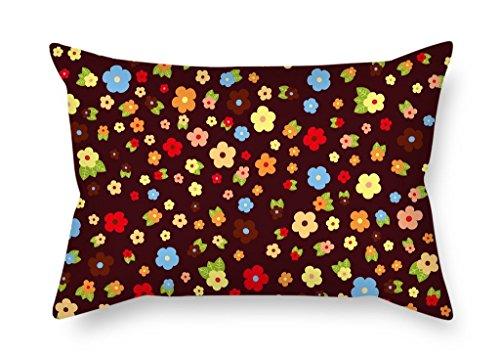Blume Valentine Day Kissen 50,8x 76,2cm/50von 75cm für Bürostuhl Valentine Frau Küche Play mit doppelter Seiten (Baseball Schwellen)