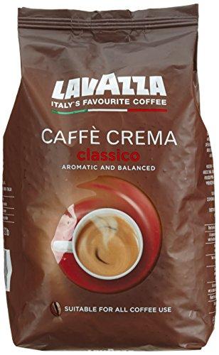 Lavazza Kaffeebohne, Caffè Crema Classico, 1er Pack (1 x 1 kg)
