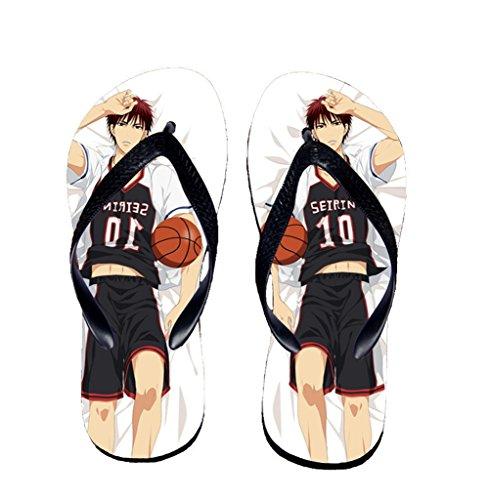 Bromeo Kuroko No Basuke Anime Unisexe Flip Flops Tongs 412