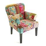 MIMMA Versa - Stuhl mit Armlehne PATCHWORK