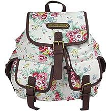 blümchen rucksack