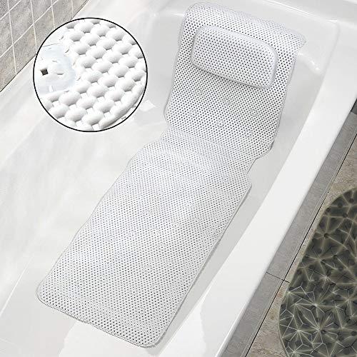 Almohada de Baño, Almohada de Colchón de Baño de spa de Cuerpo...