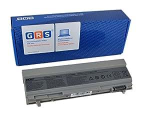 GRS Batterie d'Ordinateur Portable 6600mAh fç ¬ R Dell Latitude E6400, E6500, precision M2400, M4400, remplace: PT434, PT435, PT436, PT437, KY477, KY265, KY266, KY268, FU268, FU274FU571, MN632, MP307, MP303NM631NM633, batterie ordinateur portable 6600mAh, 11,1V