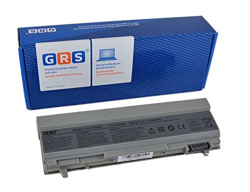 GRS Batterie d'Ordinateur Portable 6600 mAh fç ¬ R Dell Latitude E6400, E6500, precision M2400, M4400, remplace : PT434, PT435, PT436, PT437, KY477, KY265, KY266, KY268, FU268, FU274 FU571, MN632, MP307, MP303 NM631 NM633, batterie ordinateur portable 6600 mAh, 11,1 V